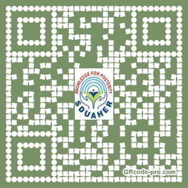QR code with logo 34rb0