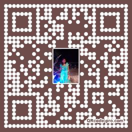 QR code with logo 34sU0