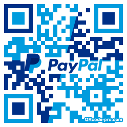 QR code with logo 34ty0