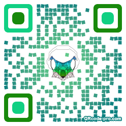 QR code with logo 35170
