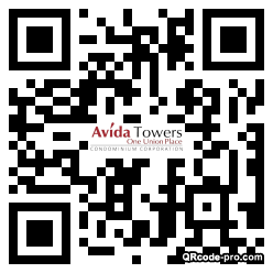 QR code with logo 352s0