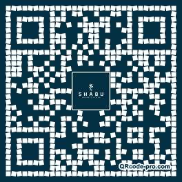 QR code with logo 353M0