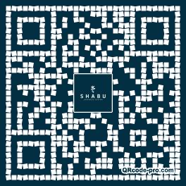 QR code with logo 353N0