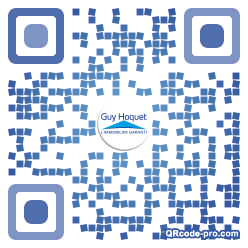 QR code with logo 353x0