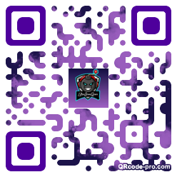 QR code with logo 354o0