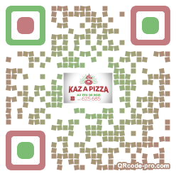 QR code with logo 355Q0