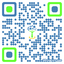 QR code with logo 355T0