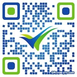 QR code with logo 355W0