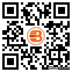 QR code with logo 35A80