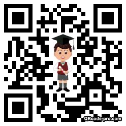 QR code with logo 35by0