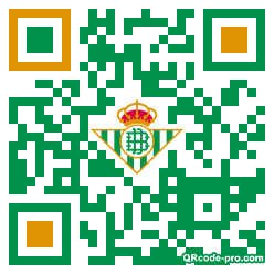 QR code with logo 35ey0