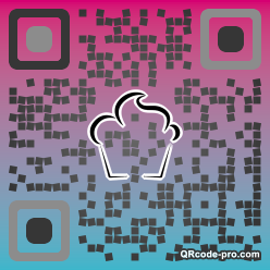 QR code with logo 35le0