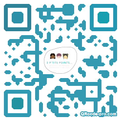 QR code with logo 35m40
