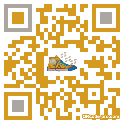 QR code with logo 35mJ0