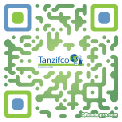 QR code with logo 35wp0