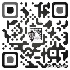 QR code with logo 393L0