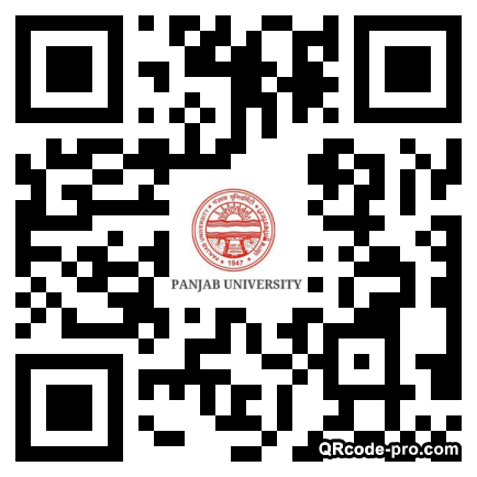 QR code with logo 3d9S0