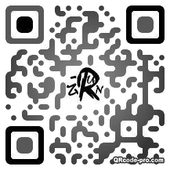 QR code with logo 3dlH0