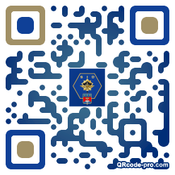 QR code with logo 3hGx0