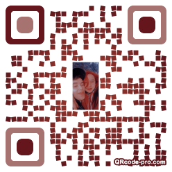 QR code with logo 3iED0