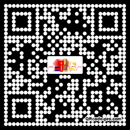 QR code with logo 3iJE0