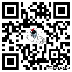 QR code with logo 3iR80