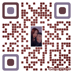 QR code with logo 3icn0