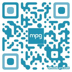 QR code with logo 6WP0