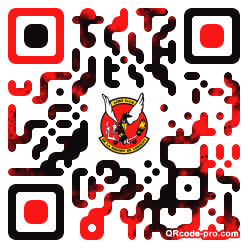 QR code with logo 6ZO0