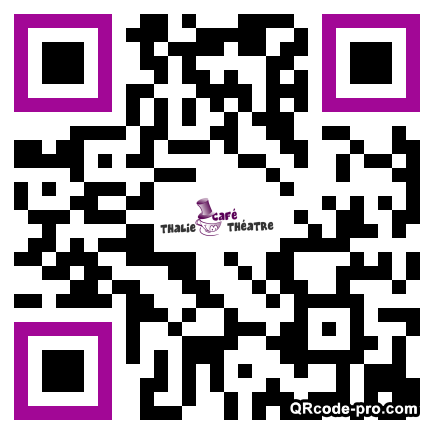 QR code with logo 73R0