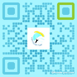 QR code with logo 7CM0