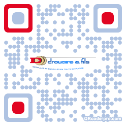 QR code with logo 7FZ0