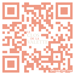 QR code with logo 7XR0