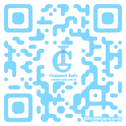 QR code with logo 8At0