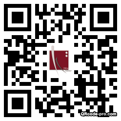 QR code with logo 8Up0