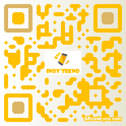 QR code with logo 8di0