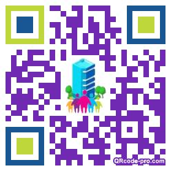 QR code with logo 8xJ0