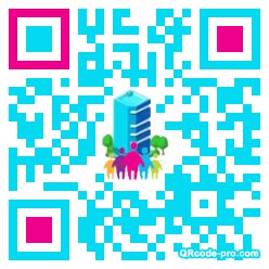 QR code with logo 8xl0