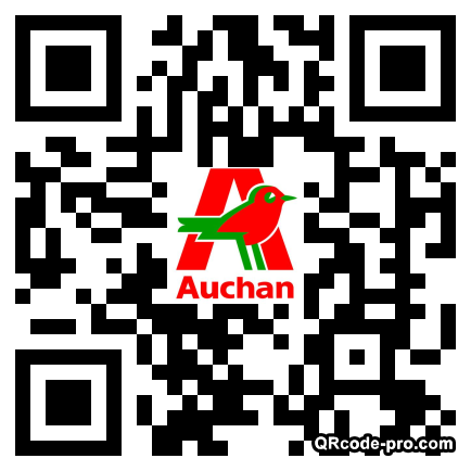 QR code with logo 9Fe0
