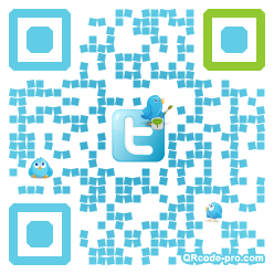 QR code with logo 9Tv0