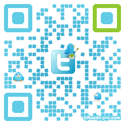 QR code with logo 9ex0