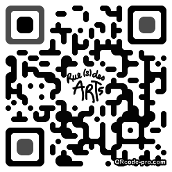 QR code with logo 9hs0