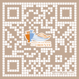 QR code with logo 9m40
