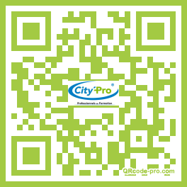 QR code with logo 9mb0