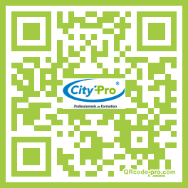 QR code with logo 9ms0