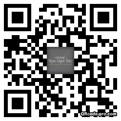 QR code with logo A7p0