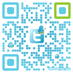 QR code with logo AAf0