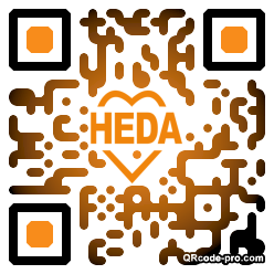 QR code with logo ACQ0