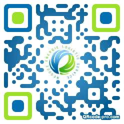 QR code with logo AG60