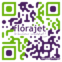 QR code with logo ANB0